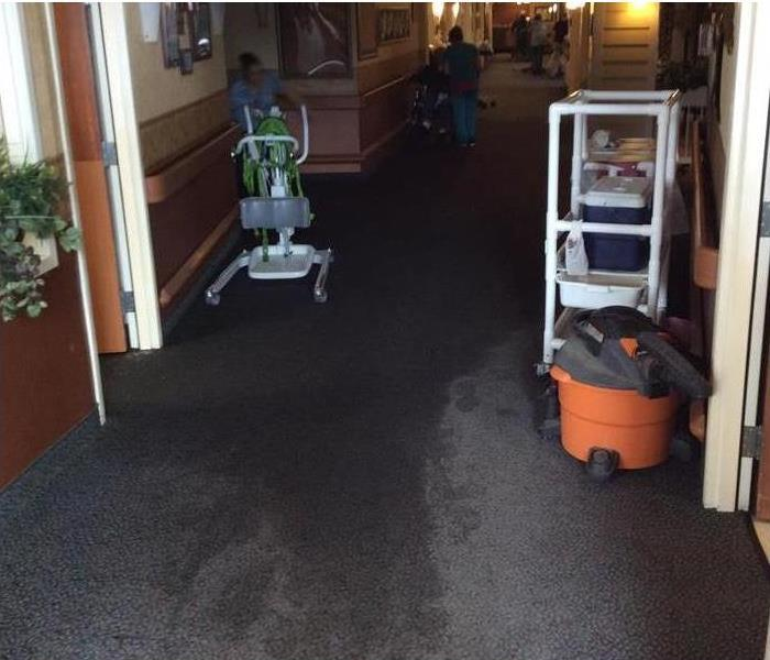 Commercial Building Suffers Water Damage Before