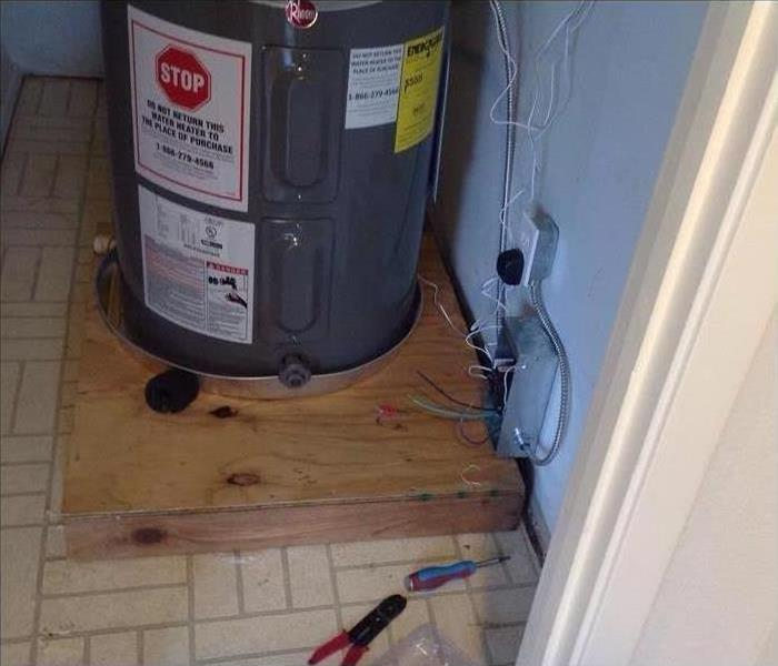 Water Damage Caused by Water Heater